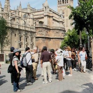 Viajes China_Turistas en Andalucia