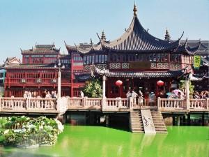 Shanghai. Jardín Yuyuan