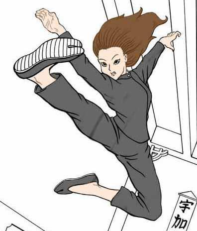 Viajes China_Kung Fu chica1